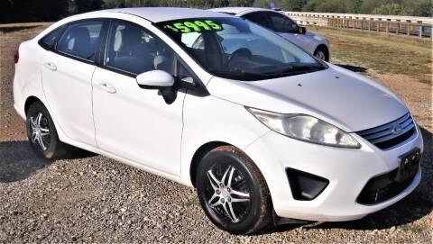 2012 Ford Fiesta for sale at Advantage Auto Sales in Wichita Falls TX
