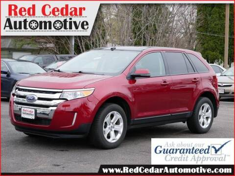 2013 Ford Edge for sale at Red Cedar Automotive in Menomonie WI
