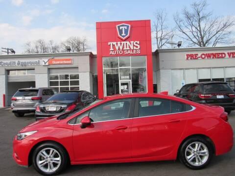 2016 Chevrolet Cruze for sale at Twins Auto Sales Inc in Detroit MI