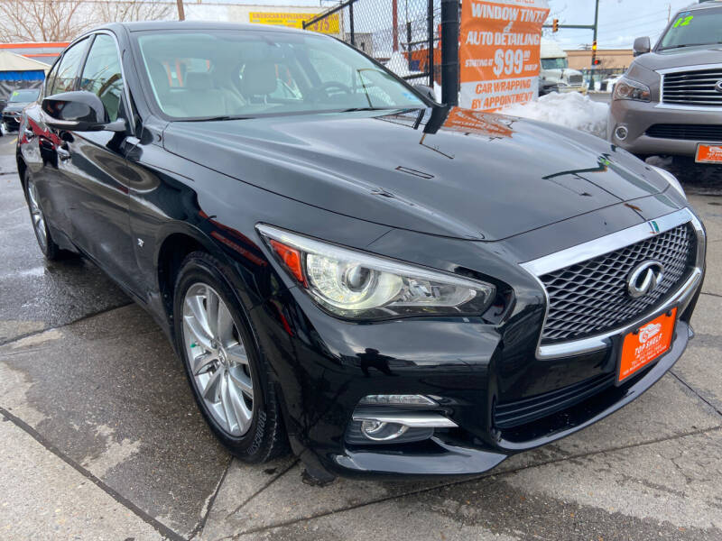 2015 Infiniti Q50 for sale at TOP SHELF AUTOMOTIVE in Newark NJ