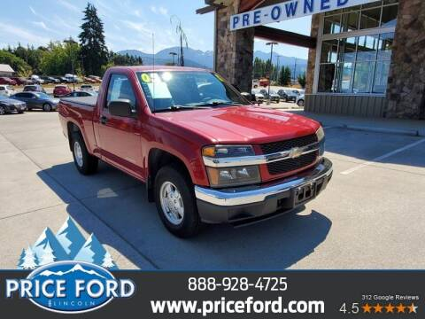 2005 Chevrolet Colorado for sale at Price Ford Lincoln in Port Angeles WA
