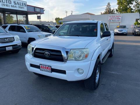 2006 Toyota Tacoma for sale at Adams Auto Sales in Sacramento CA