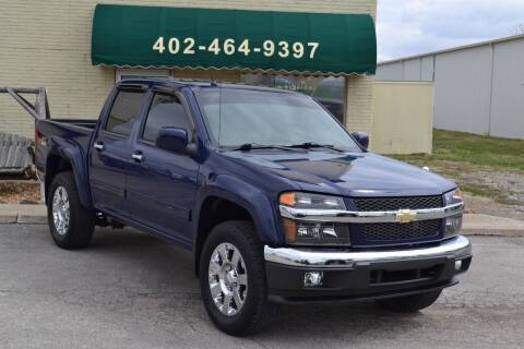 2012 Chevrolet Colorado for sale at Eastep's Wheels in Lincoln NE