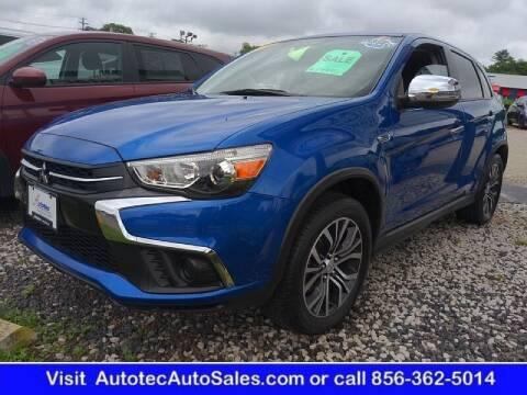 2018 Mitsubishi Outlander Sport for sale at Autotec Auto Sales in Vineland NJ