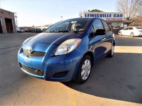 2010 Toyota Yaris for sale at Lewisville Car in Lewisville TX