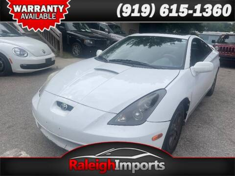 2002 Toyota Celica for sale at Raleigh Imports in Raleigh NC