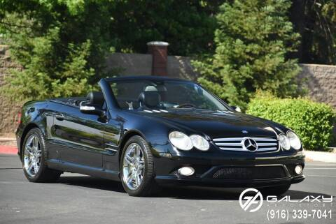 2007 Mercedes-Benz SL-Class for sale at Galaxy Autosport in Sacramento CA