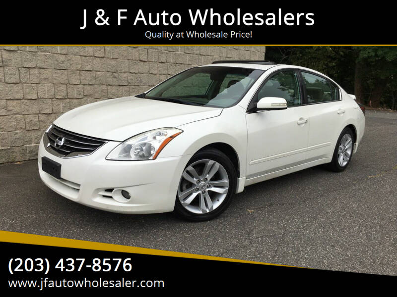 2010 Nissan Altima for sale at J & F Auto Wholesalers in Waterbury CT