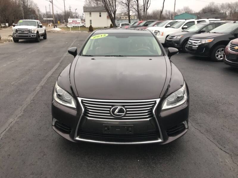 2013 Lexus LS 460 for sale at EXPO AUTO GROUP in Perry OH