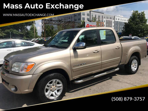 2006 Toyota Tundra for sale at Mass Auto Exchange in Framingham MA