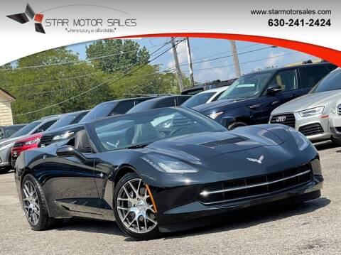 2014 Chevrolet Corvette for sale at Star Motor Sales in Downers Grove IL