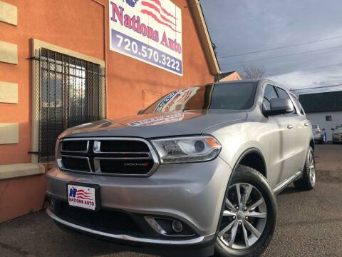 2014 Dodge Durango for sale at Nations Auto Inc. II in Denver CO