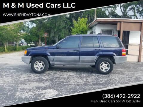 1998 Jeep Grand Cherokee for sale at M & M Used Cars LLC in Daytona Beach FL