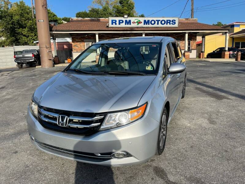 2014 Honda Odyssey for sale at RPM Motors in Nashville TN