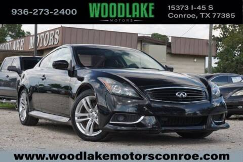 2010 Infiniti G37 Coupe for sale at WOODLAKE MOTORS in Conroe TX
