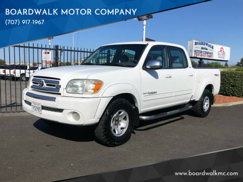 2006 Toyota Tundra for sale at BOARDWALK MOTOR COMPANY in Fairfield CA