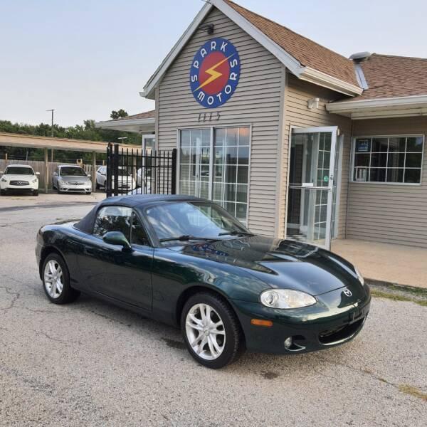 2002 Mazda MX-5 Miata for sale at Spark Motors in Kansas City MO