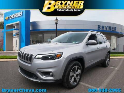 2019 Jeep Cherokee for sale at BRYNER CHEVROLET in Jenkintown PA