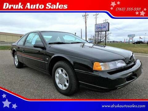 1993 Ford Thunderbird for sale at Druk Auto Sales in Ramsey MN