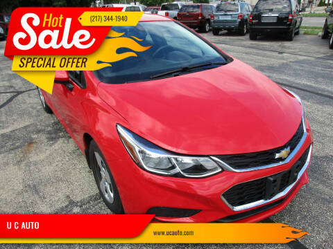 2017 Chevrolet Cruze for sale at U C AUTO in Urbana IL