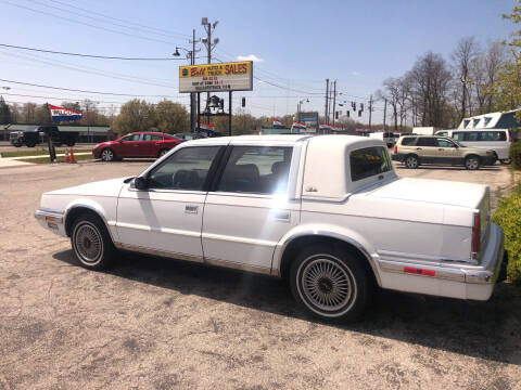 1990 Chrysler New Yorker for sale at BELL AUTO & TRUCK SALES in Fort Wayne IN