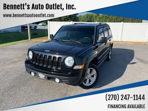 2015 Jeep Patriot for sale at Bennett's Auto Outlet, Inc. in Mayfield KY