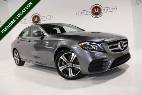 2018 Mercedes-Benz E-Class for sale at Unlimited Motors in Fishers IN