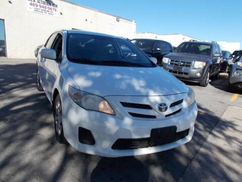 2011 Toyota Corolla for sale at ACH AutoHaus in Dallas TX