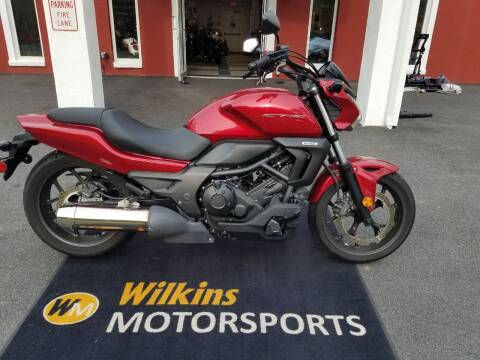 2014 Honda CTX700 for sale at WILKINS MOTORSPORTS in Brewster NY