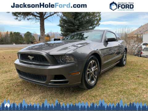 2014 Ford Mustang for sale at Jackson Hole Ford of Alpine in Alpine WY