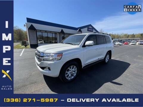2019 Toyota Land Cruiser for sale at Impex Auto Sales in Greensboro NC
