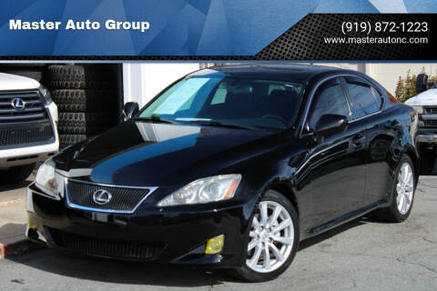 2008 Lexus IS 250 for sale at Master Auto Group in Raleigh NC