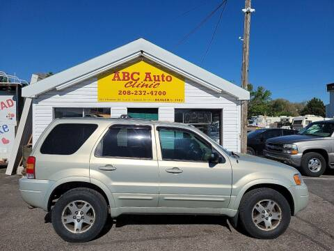 2003 Ford Escape for sale at ABC AUTO CLINIC in Chubbuck ID