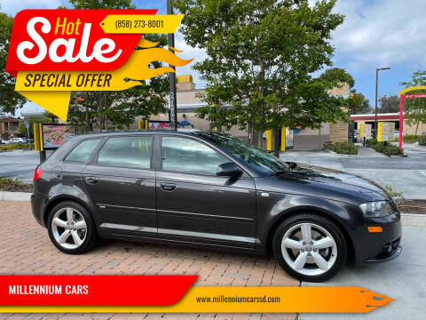2008 Audi A3 for sale at MILLENNIUM CARS in San Diego CA
