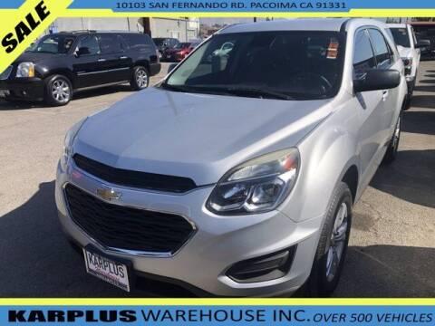 2017 Chevrolet Equinox for sale at Karplus Warehouse in Pacoima CA