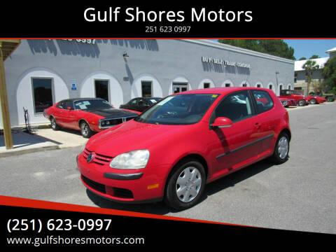2007 Volkswagen Rabbit for sale at Gulf Shores Motors in Gulf Shores AL