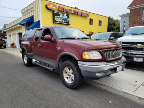 2003 Ford F-150 for sale at Bel Air Auto Sales in Milford CT