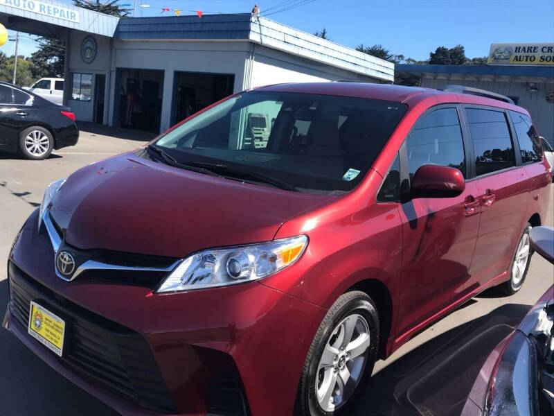 2019 Toyota Sienna for sale at HARE CREEK AUTOMOTIVE in Fort Bragg CA