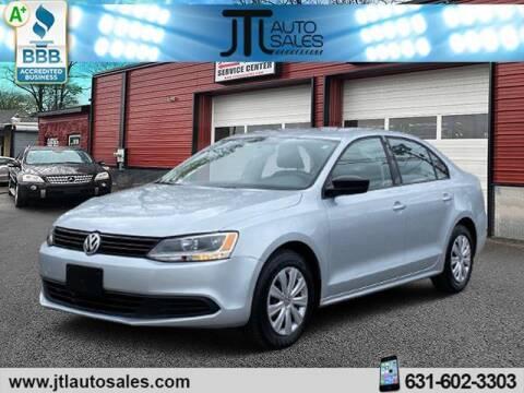 2013 Volkswagen Jetta for sale at JTL Auto Inc in Selden NY