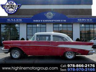 1957 Chevrolet 210 for sale at Highline Group Motorsports in Lowell MA