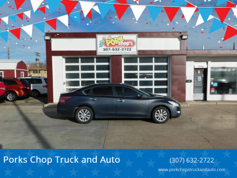2013 Nissan Altima for sale at Pork Chops Truck and Auto in Cheyenne WY