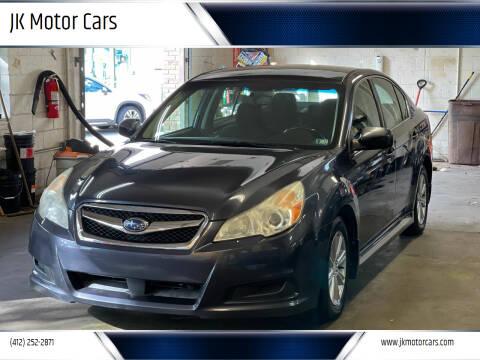 2010 Subaru Legacy for sale at JK Motor Cars in Pittsburgh PA
