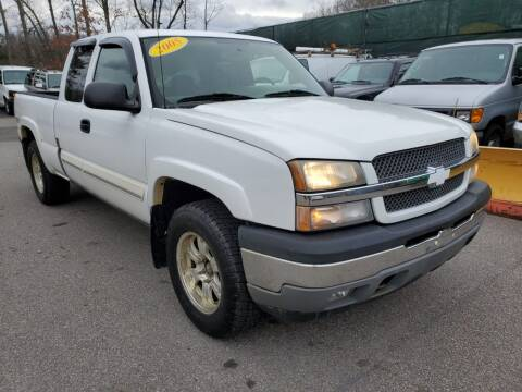 2005 Chevrolet Silverado 1500 for sale at MX Motors LLC in Ashland MA