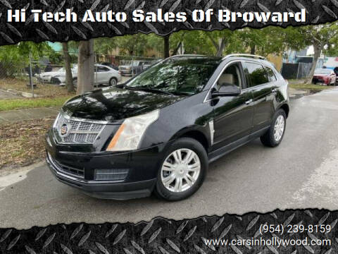 2011 Cadillac SRX for sale at Hi Tech Auto Sales Of Broward in Hollywood FL
