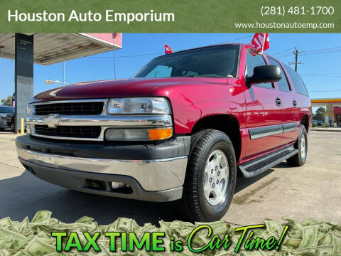 2004 Chevrolet Suburban for sale at Houston Auto Emporium in Houston TX