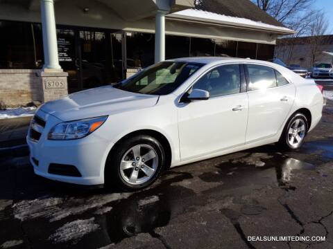 2014 Chevrolet Malibu for sale at DEALS UNLIMITED INC in Portage MI