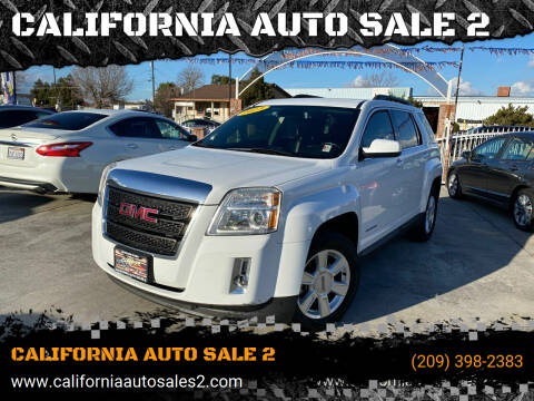 2013 GMC Terrain for sale at CALIFORNIA AUTO SALE 2 in Livingston CA