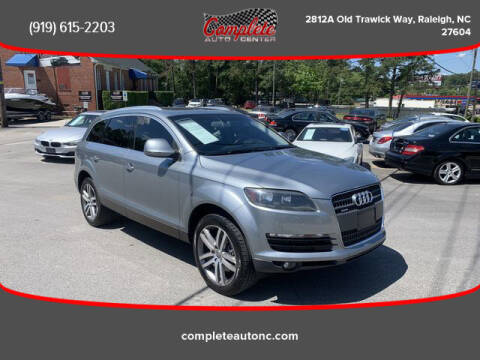 2009 Audi Q7 for sale at Complete Auto Center , Inc in Raleigh NC