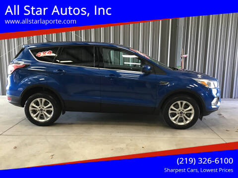 2017 Ford Escape for sale at All Star Autos, Inc in La Porte IN