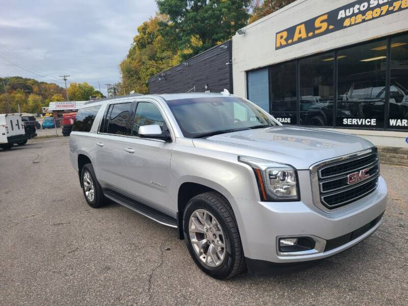 2015 GMC Yukon XL for sale at R.A.S. Auto Sales Inc. in Pittsburgh PA